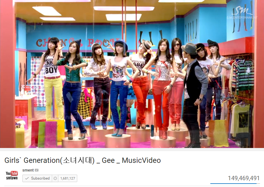TOP 6. 少女時代 - Gee