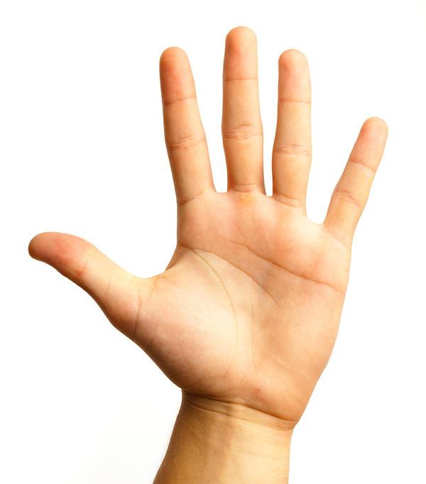 Q. 看這隻伸出的手,你認為「它」代表的意義是什麼呢? (從下面給出的6個答案中選擇一個)