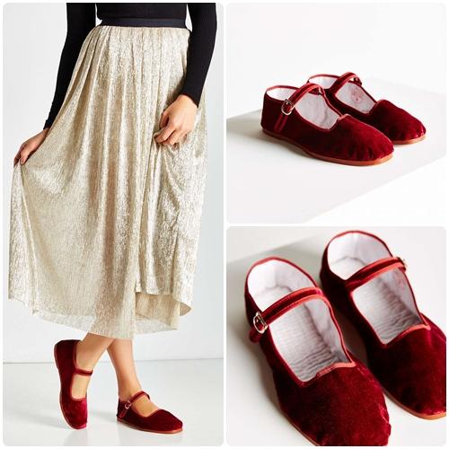 平底踝帶鞋有很多種顏色可以選,不知道為什麼有種童貞未退的感覺,另外少去高跟鞋的正式感,取而代之的是舒適自在的氛圍。