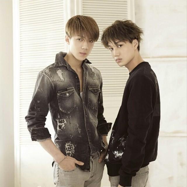 不讓同事(?)專美於前,EXO的Kai也是公認的美男