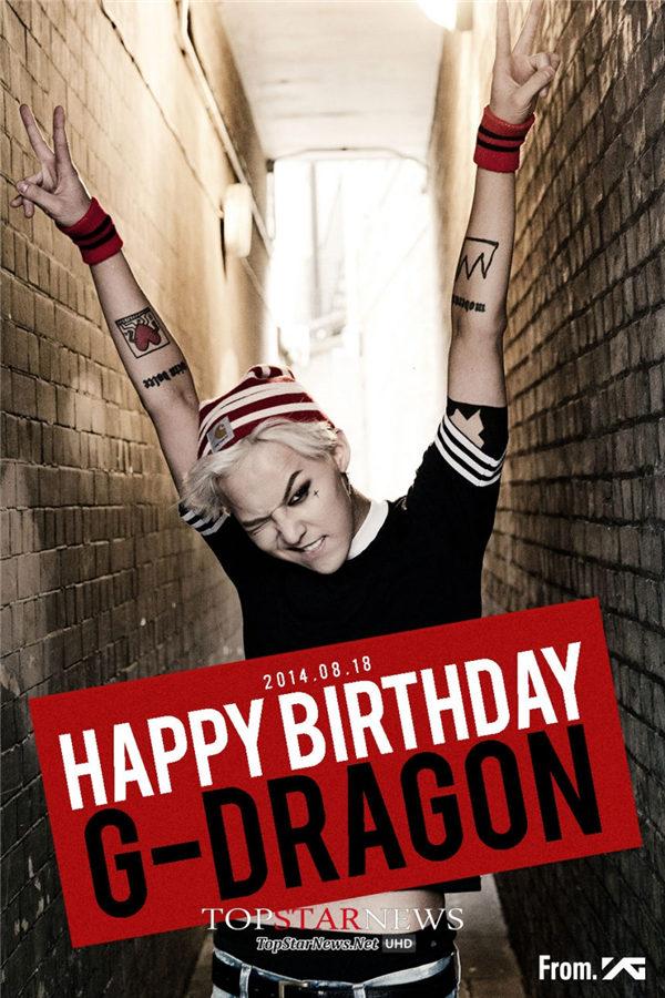 #1 BIGBANG — G-DRAGON  代表作:《One of a Kind》《Crooked》等