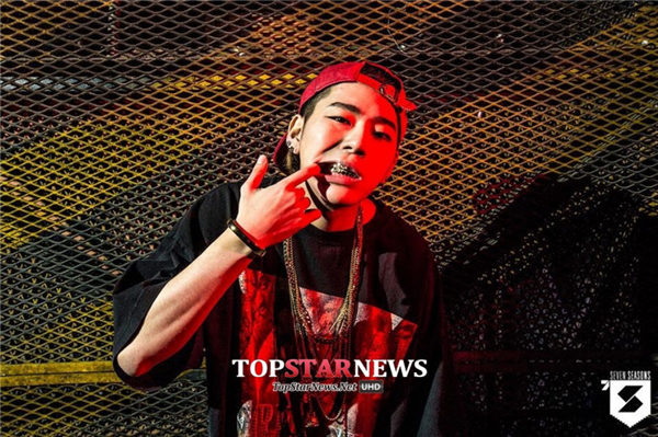 #2 Block B——Zico 代表作:《Yes or NO》《Tough Cookie》等