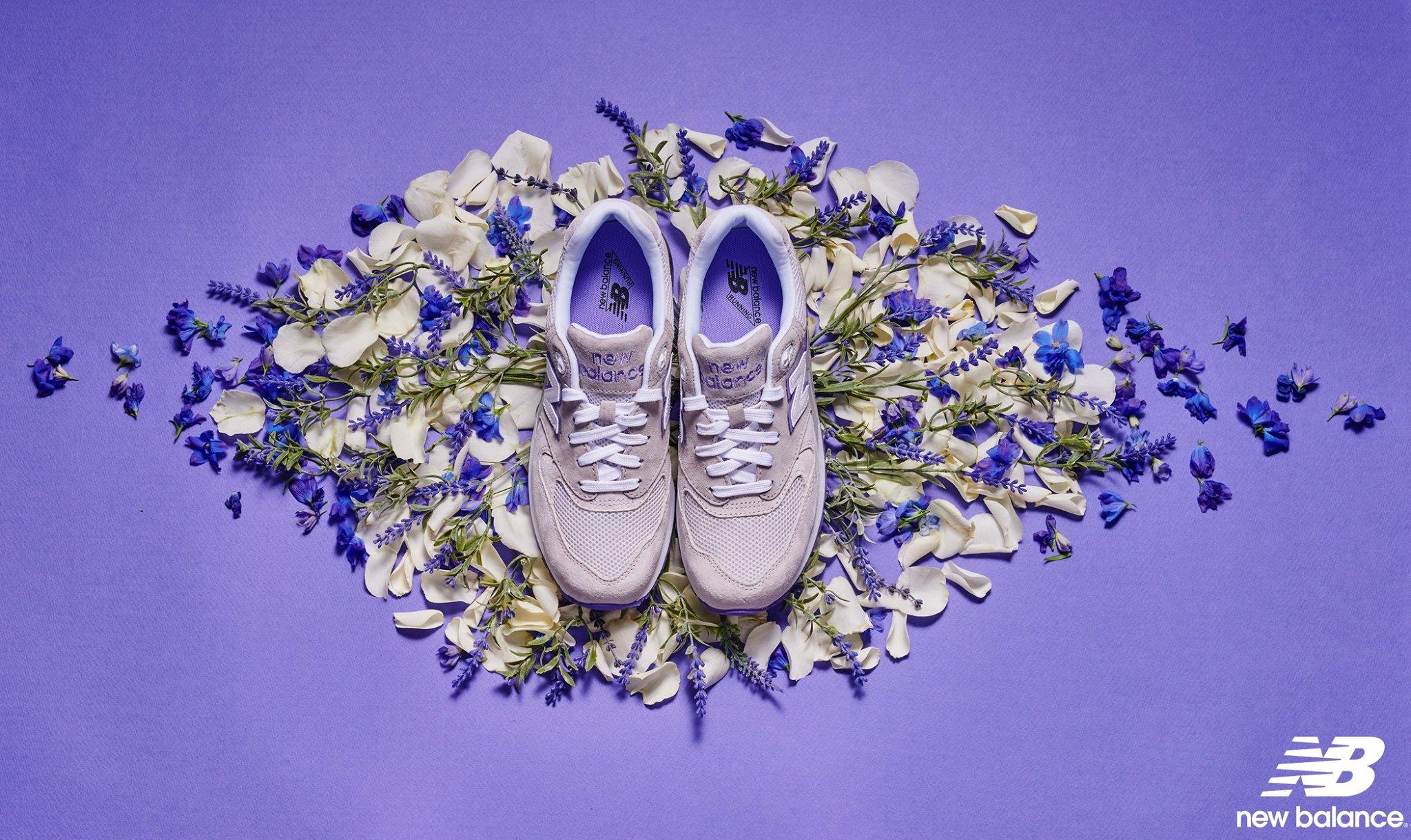 像這個!就是之前熱賣的薰衣草ML999鞋款,讓紫色控的女生都要昏倒了~
