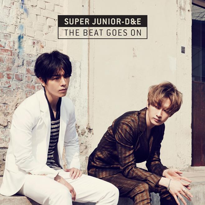 2015.03.06 SUPER JUNIOR D&E《The Beat Goes On》  SUPER JUNIOR 的小情侶(?)東海跟銀赫也在今年發行小分隊專輯,我自己很喜歡主打歌《Growing Pains(너는 나만큼)》大家真的要聽看看!