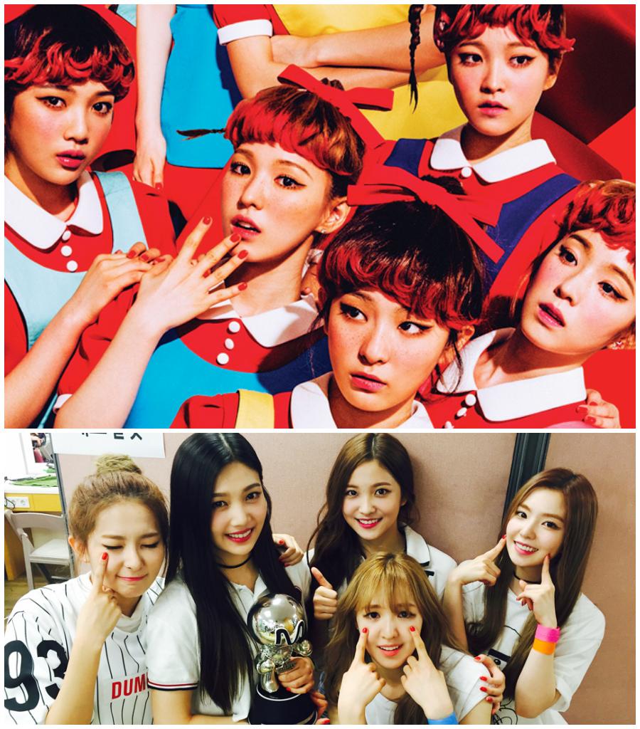 2015.09.09 Red Velvet 《The Red》  Red Velvet 也在今年發行了首張正規專輯《The Red》,主打歌「Dumb Dumb」真的非常有中毒性,都會讓人跟著一起 Dumb Dumb~Dumb Dumb。