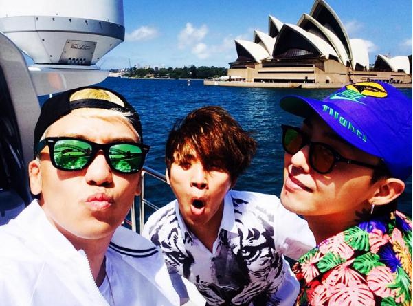 還可以看到 BIGBANG 其他成員的日常生活照