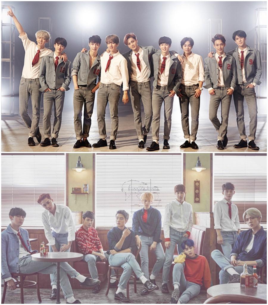 ★ EXO :: 22.7 歲 ★  在 2012 年出道的 EXO,目前成員有 XIUMIN、LAY、Suho、伯賢、CHEN、燦烈、D.O.、KAI 和世勳等 9 個人,首張正規專輯《XOXO (Kiss&Hug)》突破100萬張唱片銷售量,成為 2001年後專輯銷量再次破百萬的韓團,今年發行的第二張正規專輯《EXODUS》也有很好的成績。