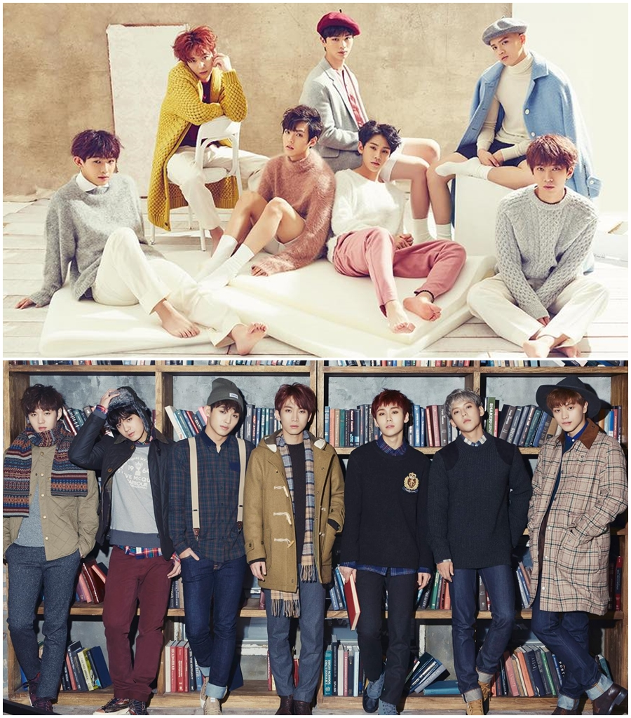 ★ BTOB :: 22.5 歲 ★  BTOB 的成員包括徐恩光、李旼赫、李昌燮、任炫植、PENIEL、鄭鎰勳、陸星材,於 2012 年出道,是韓國網友公認的實力派偶像團體,他們也在今年憑藉《回家的路》取得出道以來的第一個一位的肯定。