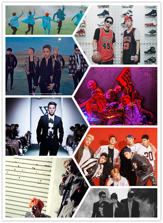 YG娛樂雖然主要靠BIGBANG,以及年末的iKON,但是幾首《Show Me the Money》的單曲也是榜上常勝軍~