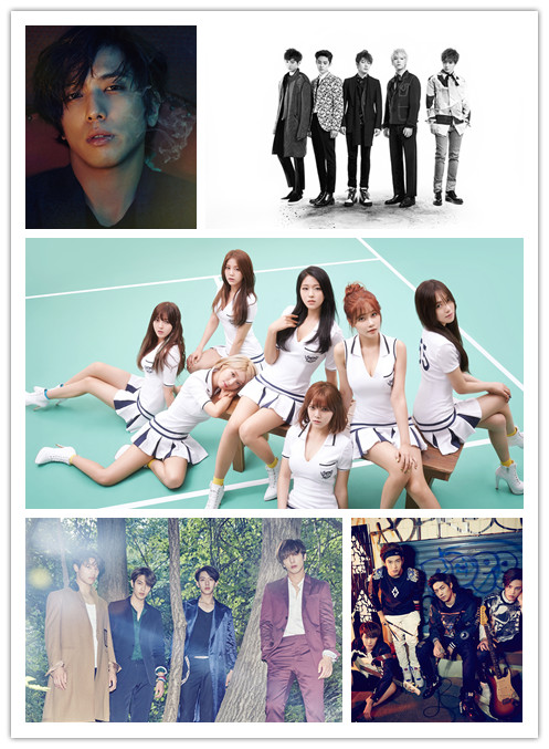 FNC娛樂最近真是急起直追~不但女團AOA聲勢扶搖直上,開起了海外的fan meeting~樂團也都有好表現~也推出了第三代男子樂團N.Flying