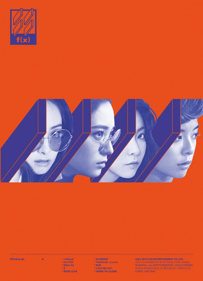★ No.4 :: f(x) 65,933 張★  在 10 月底才發行新專輯《4 Walls 》的 f(x),居然在短短幾天內就賣超過 6 萬張專輯,這個銷量和人氣真的不是開玩笑的啊 >_<!