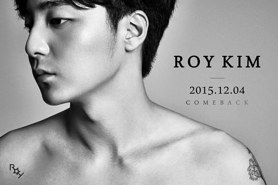 以往都是走清新曲風的Roy Kim 選在12月回歸 是想要走冬季感性風呢 還是聖誕溫馨風呢~ 這麼性感的預告照 實在讓人難以捉摸耶...