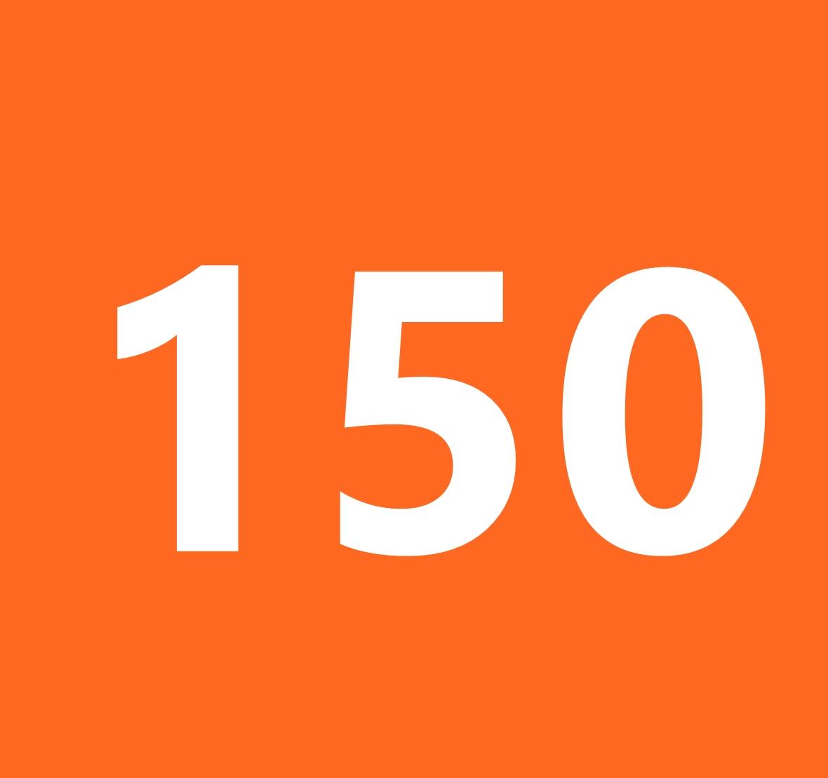 你知道,150這數字,跟瘦身有關嗎?