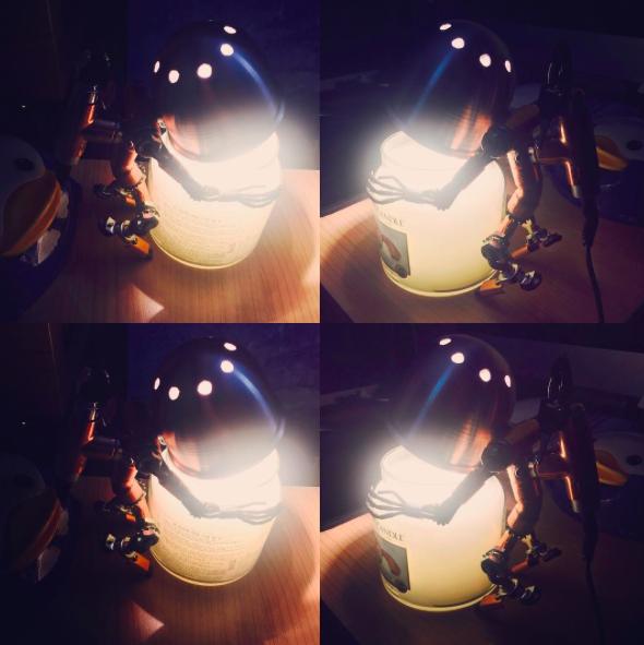有時也會點上一盞蠟燭,讓空氣中有更多浪漫分子。