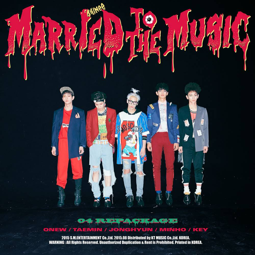 ★ NO.18 :: SHINee 《Married To The Music》69000 多張 ★