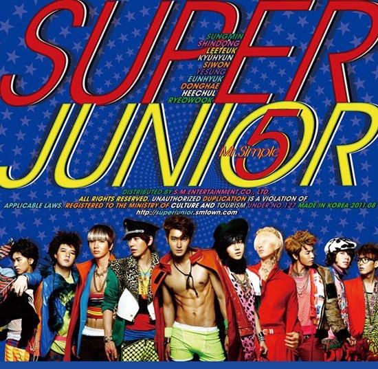★ NO.12 :: Super Junior《Mr. Simple》79100 張 ★