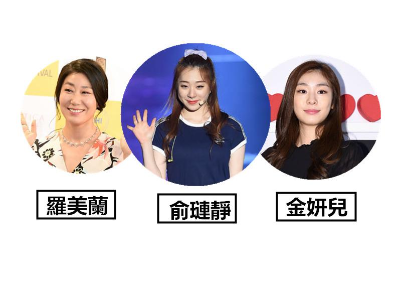 既像韓國花式滑冰國手金妍兒,又像演員羅美蘭,這反差太也太了吧?