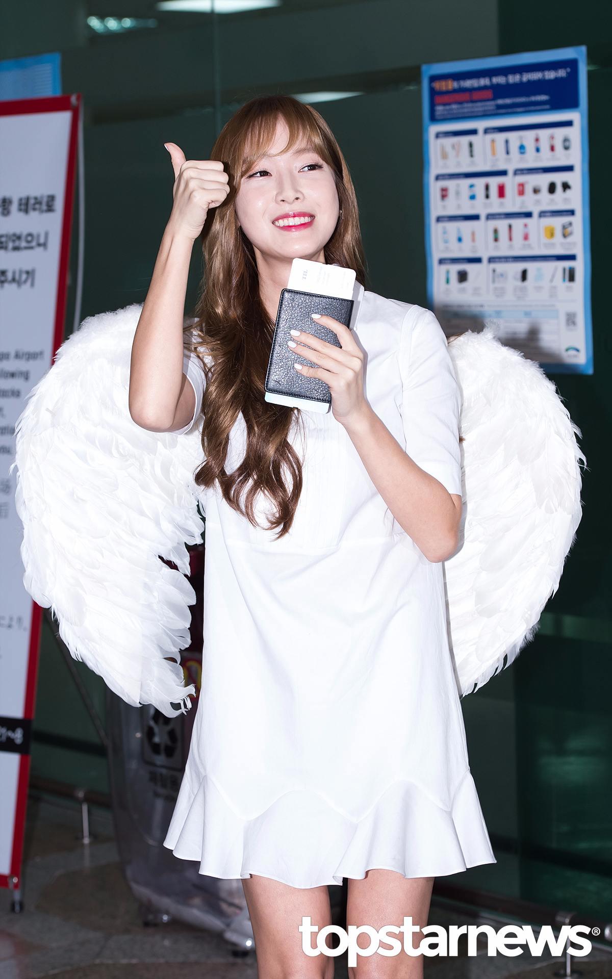 最後希望作為演員的Jessica能和作為歌手一樣棒!