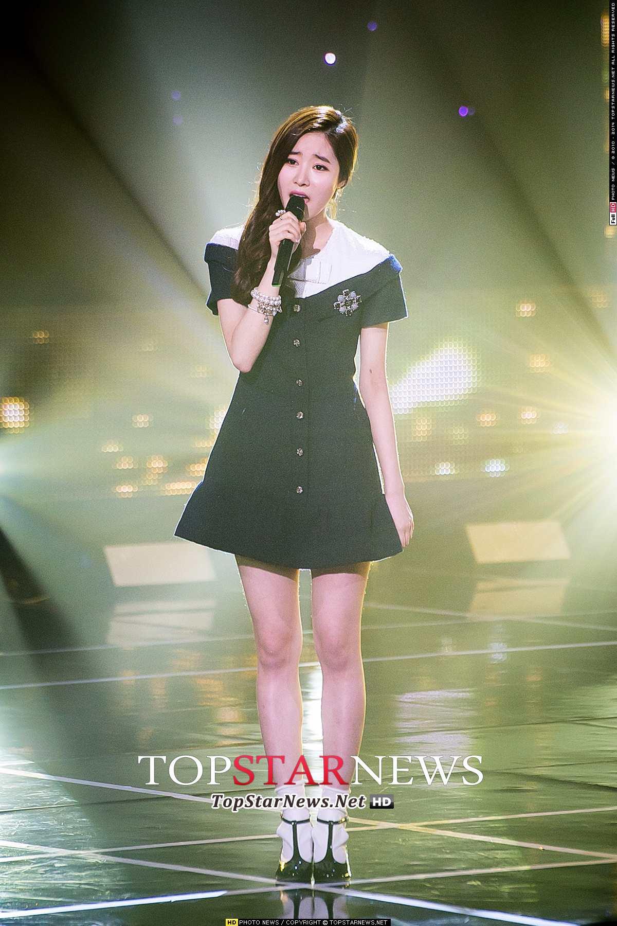 最後是2014年出道的女團Melody Day - 車熙(차희)(本名:朴秀英/박수영)