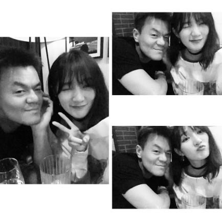 從Jia PO出的照片可以看出兩人是在飯店見面,當時就有人預測,「 兩人是一起吃飯的時候交談了合約的問題,並互相祝福」。