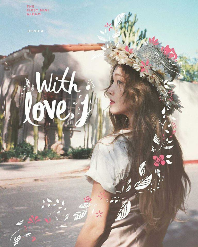 Jessica發行SOLO專輯《With LOVE,J》,雖然沒有安排音樂節目的行程打歌,第一支SOLO歌曲的成績依舊亮眼!