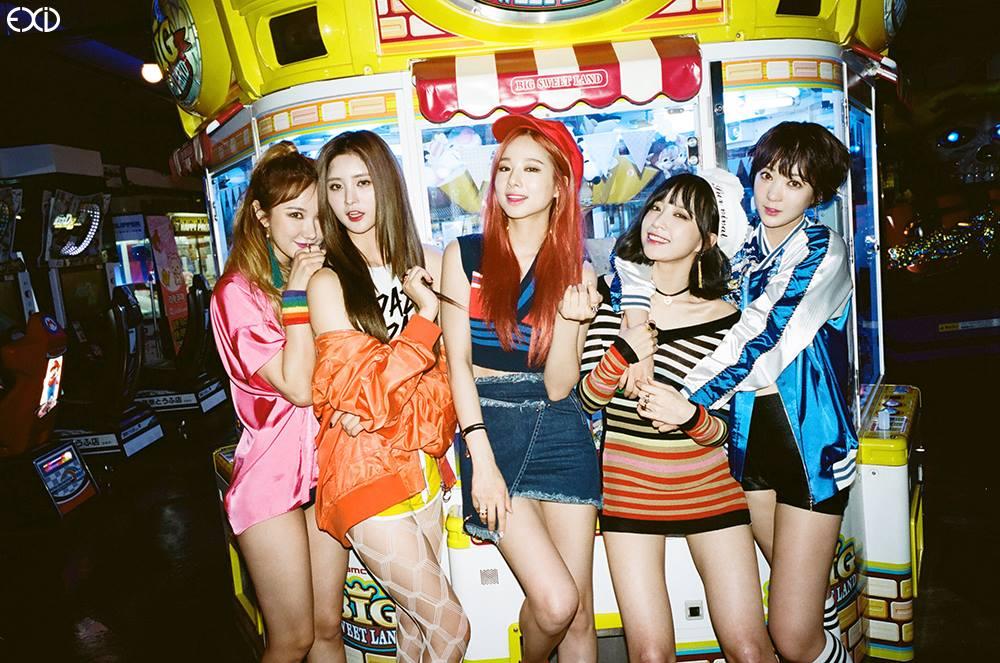 6月1日即將帶著出道後第一張正規專輯《Street》回歸的EXID,專輯還沒發行就因為新穎的宣傳活動引起關注。