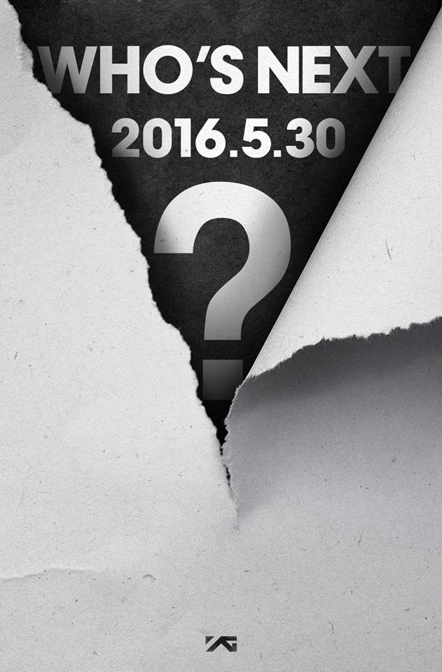 最近YG又開始使出老把戲,要大家猜猜下一個回歸/或出道的是誰,畢竟今年老陽除了承諾2NE1會為了回歸努力、BIGBANG會有10週年活動,最令人的期待的就是YG快變都市傳說的「女團」有望在今年出道