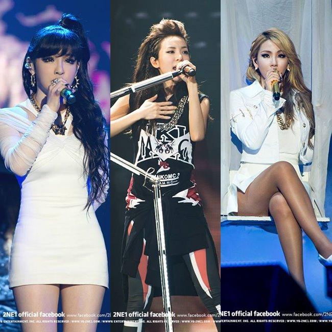 另一邊2NE1在出道前也像現在的YG新女團一樣,其實歷經了數次的預選成員更換,最後才組成最適合的4人組合。