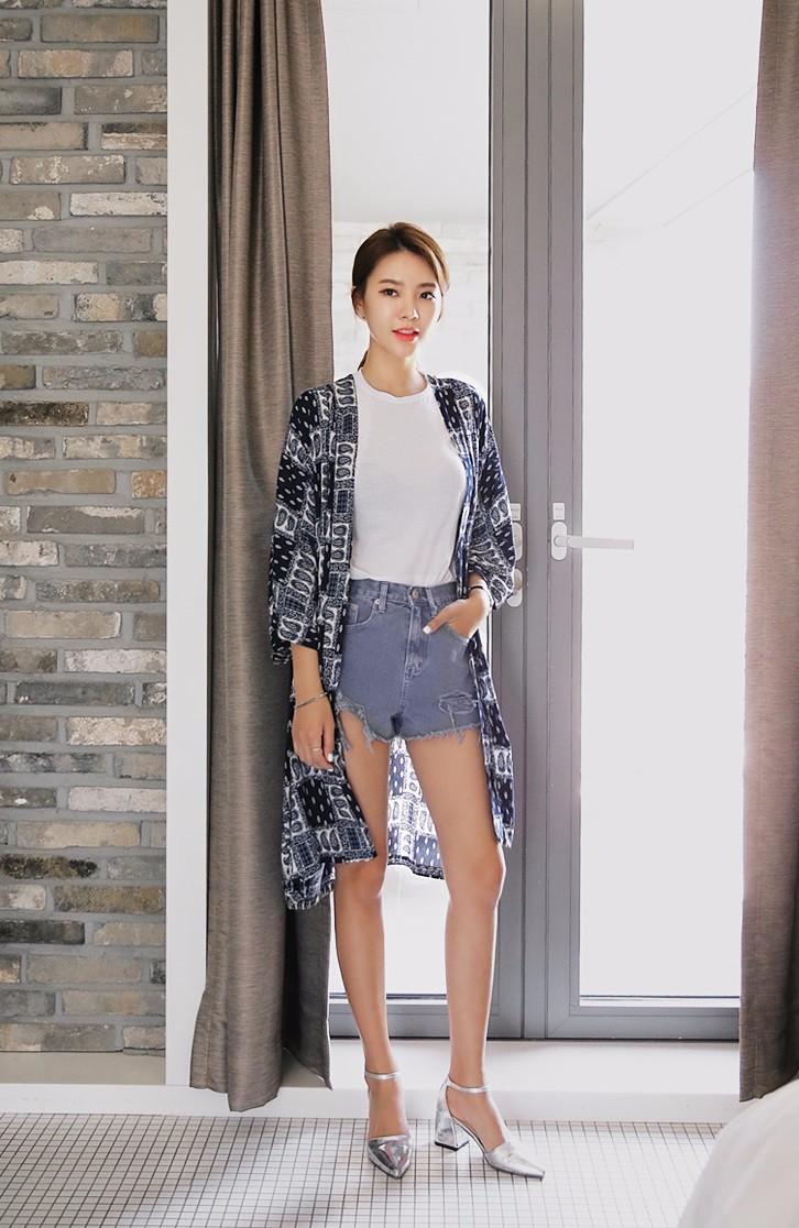 短褲的部分也可以挑選褲口較寬的款式。