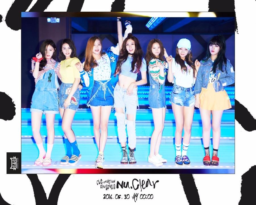 在5月30日發行了第四張迷你專輯《NU.CLEAR》的新人女團CLC,在showcase當天也承諾並發表了她們的一位公約…