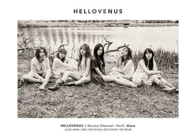 最近,從性感風格又走回清純路線的Hello Venus,也是2012年出道的女團之一!
