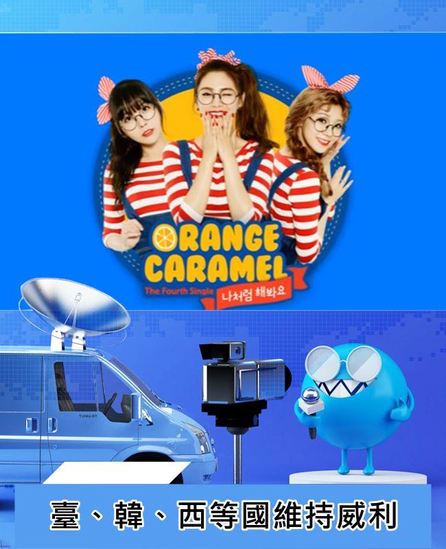韓國女團ORANGE CARAMEL - 나처럼 해봐요(My Copycat)便是翻玩威利的有趣歌曲