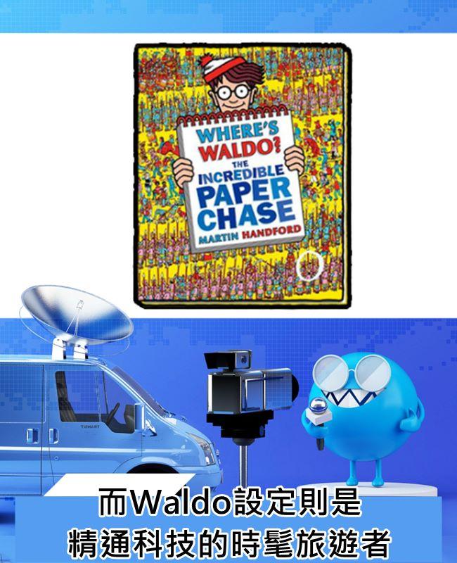 看看~~~美國版連職業都自己特色的Waldo