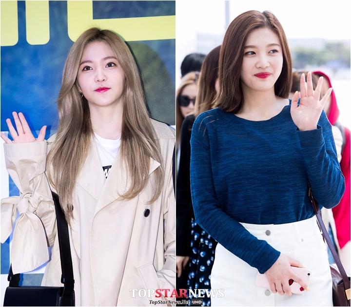 Red Velvet Joy 167cm、Yeri 158cm   差9cm