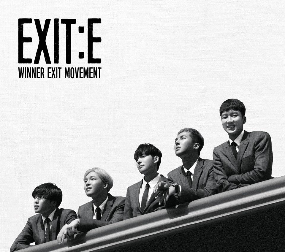 還記得 WINNER 在三月發行了一張 MINI 專輯《EXIT : E》嗎?好 der 讓我們再回到剛剛那張 EXO 的預告照片吧(跳)