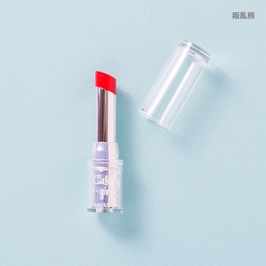 ▷ MISSHA / Calary Girl Glossy Lip Rouge #GOR02 Tropical Kiss  (KRW 11,800)