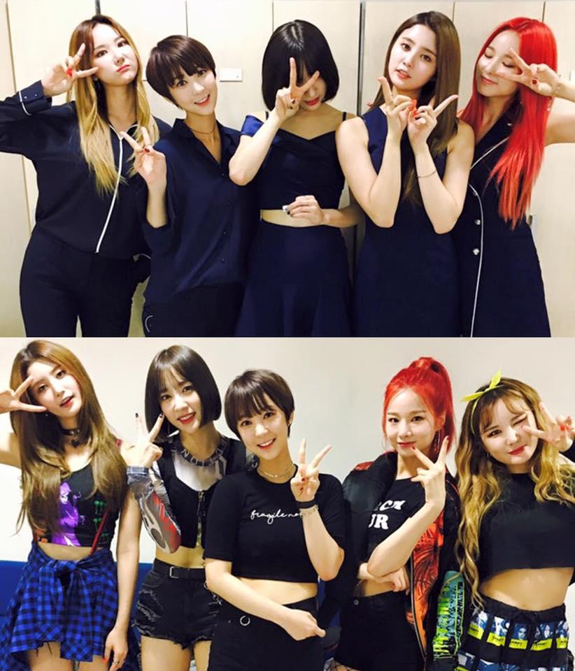 然而最近在KBS《演藝家中介》節目中,主持人問起「EXID的外貌順位第一名是誰?」,讓EXID成員們各自選出心中的第一名…