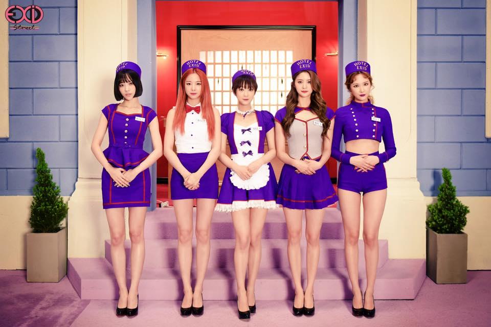這月初回歸的EXID不僅MV內容火辣,而且「飯店服務生」的造型也是繼TWICE之後造成了新話題。