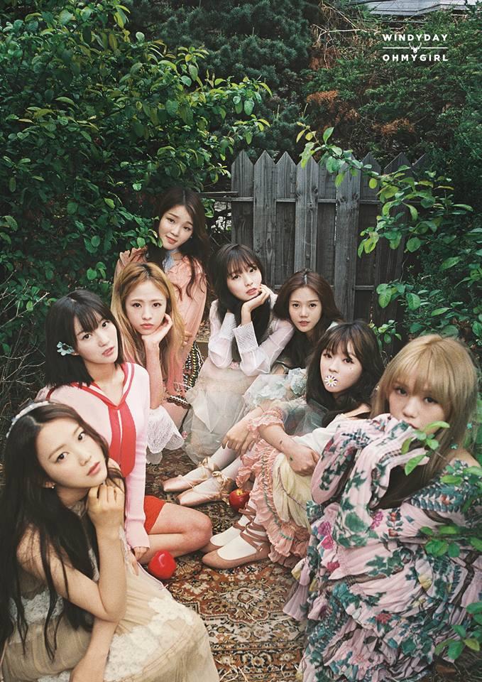 OH MY GIRL 為日本出道提前做暖身,因此,官方宣布將於7月16-17號在日本舉行迷你3輯《WINDY DAY》紀念簽名會。