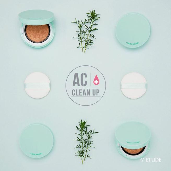 這款添加茶樹精油的新荳趣氣墊粉餅也是即將上市的新品,輕盈服貼,是痘痘肌也適合使用的低刺激氣墊粉餅