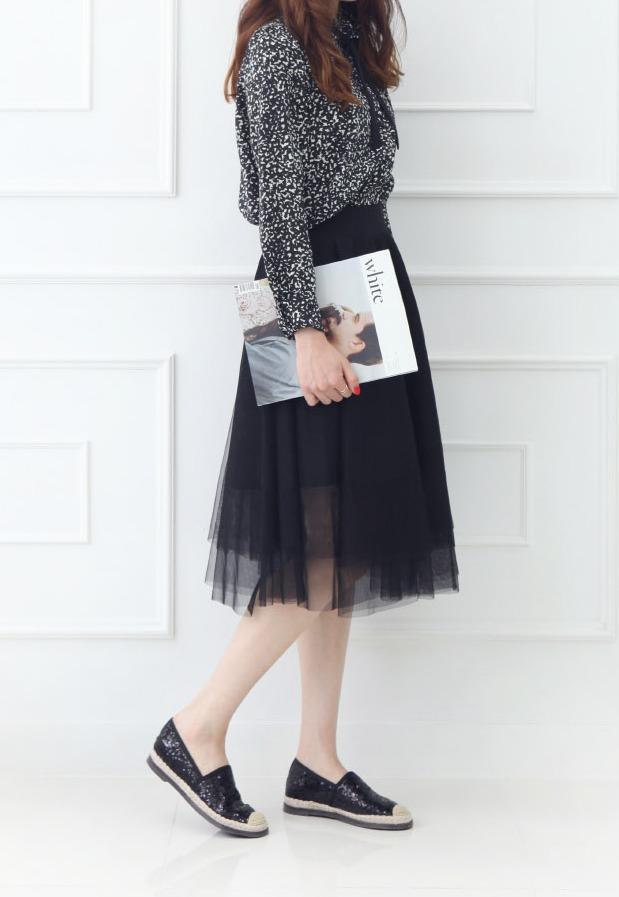 ♯ 亮片編織鞋 亮片款鞋子加上微編織設計不管是配上裙裝或褲款都很OK !