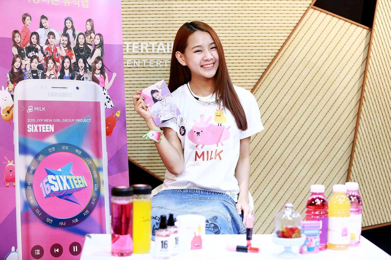 ✿Natty:2002年生 -《SIXTEEN》第一季時,展現了不一般好舞技的泰國練習生,得到JYP的極力讚美,但不知道是不是因為年紀太小而落選,據說最近變得非常漂亮,也是JYP非常愛惜的練習生之一。