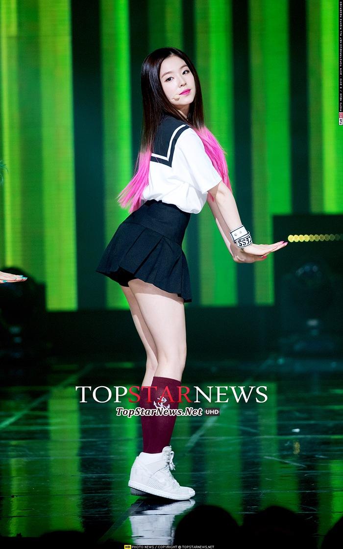 10. Irene 最後一位是Irene,黑髮+粉色染髮2色混搭長髮的她一出道就備受矚目!!!