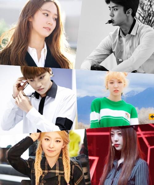 帥哥美女特別多的94Line~~有Krystal、Sulli、秀智、Kai、世勳、Wendy、瑟琪等,其中Krystal、Sulli、秀智、姜知英也曾經組成特別組合上音樂節目表演過