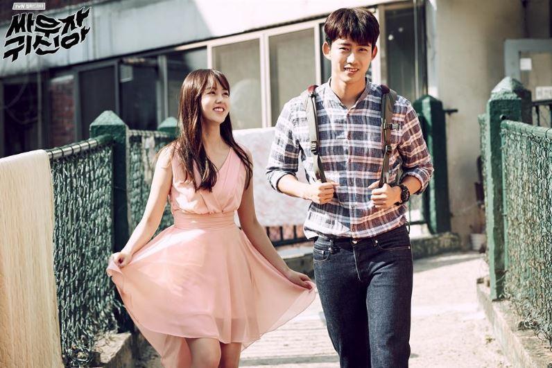 繼《Oh 我的鬼神君》之後,tvN今年夏天再推出了新一部的納涼戲劇《打架吧鬼神》,這次的女主角不是被鬼附身,而是直接上演女鬼與人類相戀的故事~