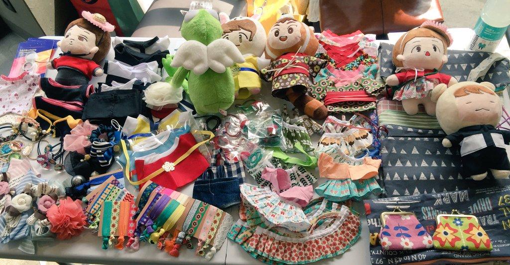 據說作為核心縫手的SP_factory社長,從很久以前開始就製作玩偶衣服,并通過flea market出售,直到去年7月才正式開了賣場 *ㅁ*