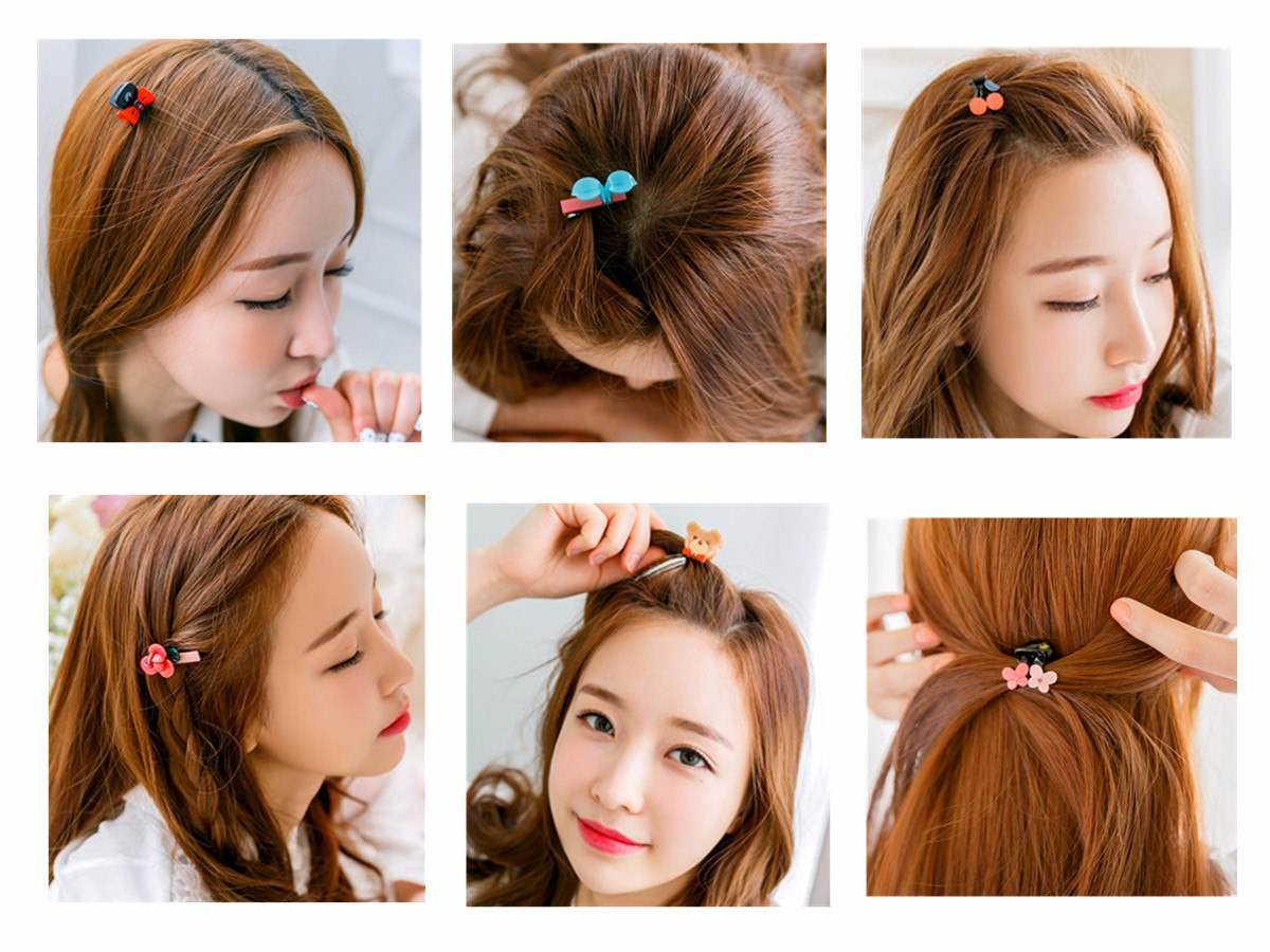 ◆Claws 而這種小髮夾,最適合夏天用來綁蘋果頭或者夾瀏海了。