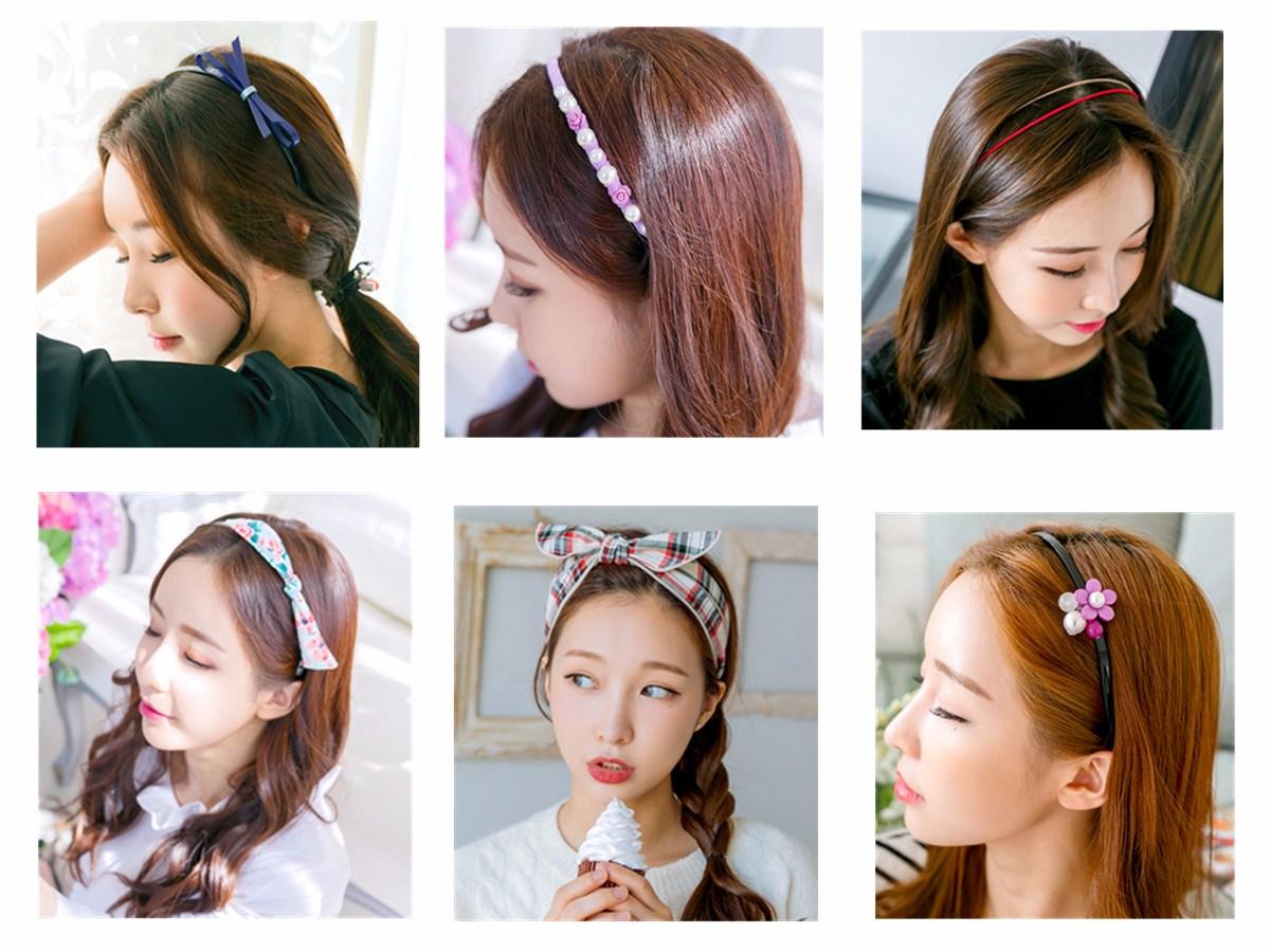 ◆Hairband 髮箍不光在設計上很多樣,材質的選擇也很多。就看你想要哪一種Style了~~