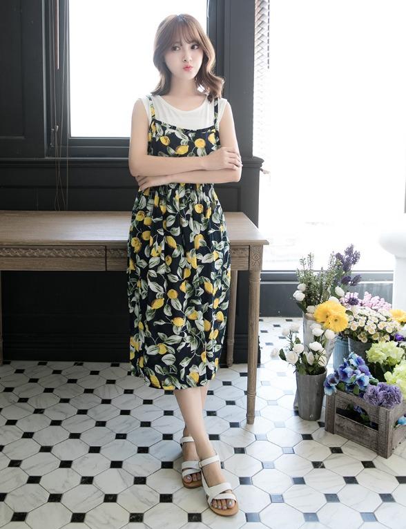 EYESCREAM - 長洋裝 衣櫥中絕對要有一件洋裝,重要場合或約會時的必備單品,只要換上跟鞋就ok了!
