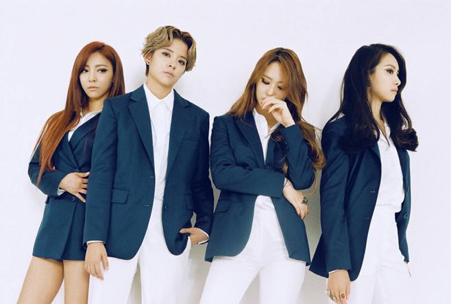 如果按照團體別的數量,女團統計資料如下: Brown Eyed Girls、KARA、Wonder Girls、f(x)、T-ara皆共有5次的戀愛說新聞,共同位居第三名。